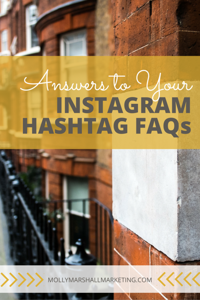 Hashtags are one of the most important pieces of your Instagram Marketing Strategy. Click to get the answers to all your most asked Hashtag questions or pin for later.