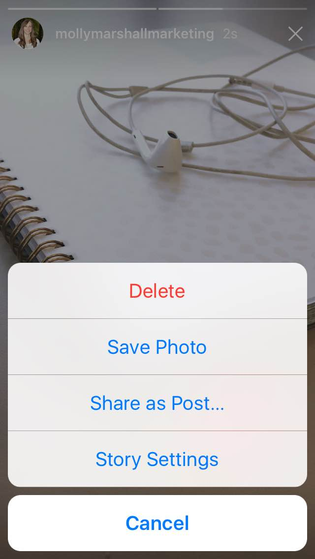 how to add instagram story from camera roll