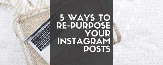 How to repurpose your Instagram posts.