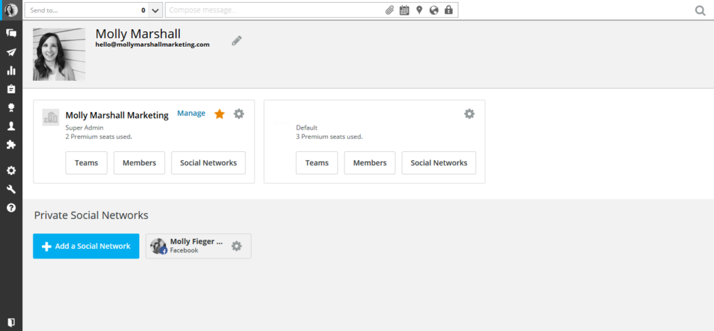 Add your Instagram account to your HootSuite dashboard