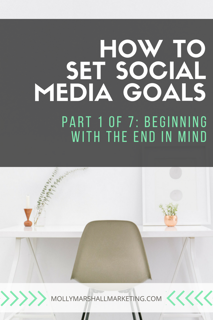 Setting social media goals is the first step to having an effective strategy in place. Read now or pin for later!