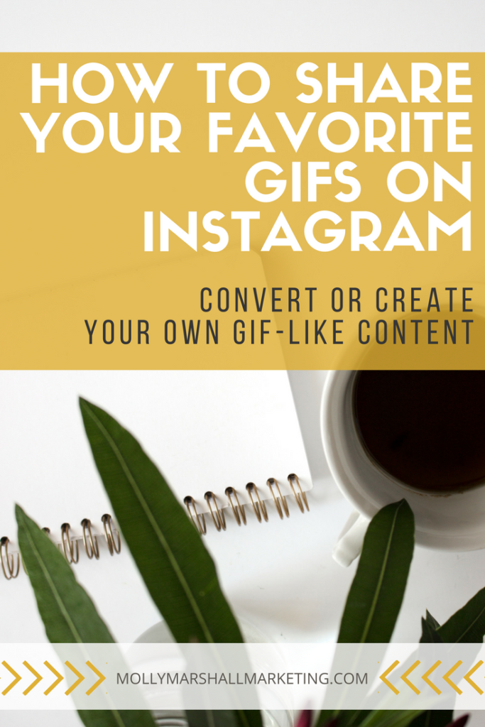 Read now or pin for later. How to convert GIF files to a format you can share on Instagram.