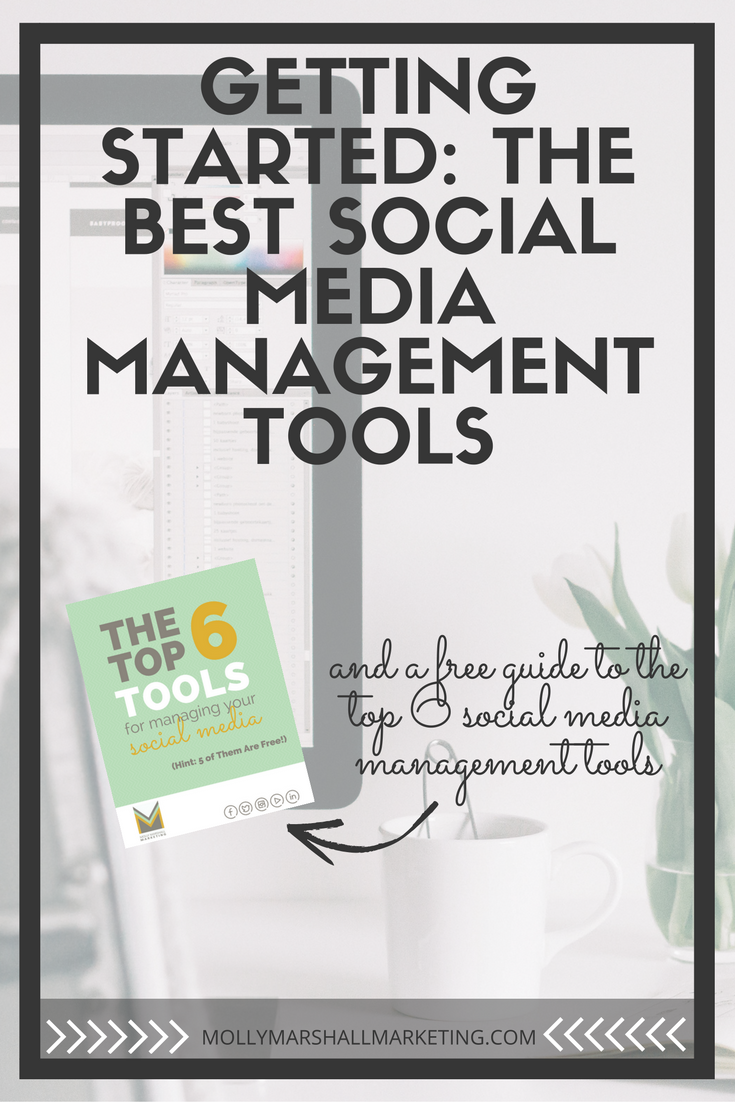Whether you're just getting started or you've been around the social media world for awhile, these tools will help you mange your accounts efficiently and successfully. Click to read or pin for later.