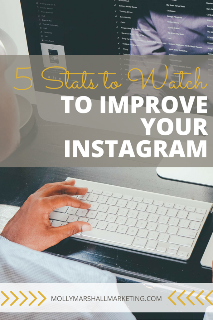 You can't improve what you don't measure, but how do you know what to measure? Click to find out the 5 stats you should be watching to improve your Instagram or pin for later.