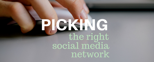 Picking The Best Social Network for Your Business