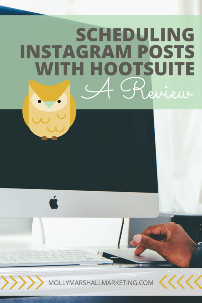 Scheduling your Instagram posts ahead of time can save a lot of time and hassle, but whats the best way to do so? Click to find out my thoughts on using HootSuite to schedule Instagram posts or pin for later.