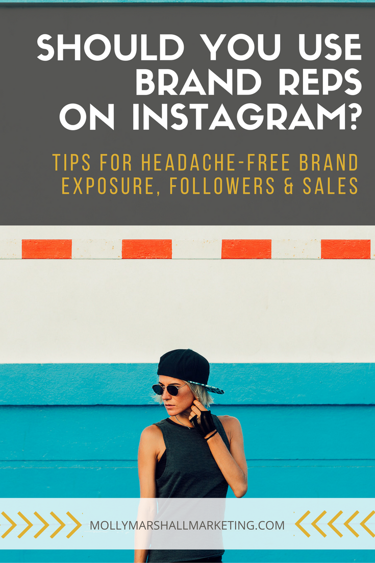 Tips For Working With Instagram Brand Reps Molly Marshall