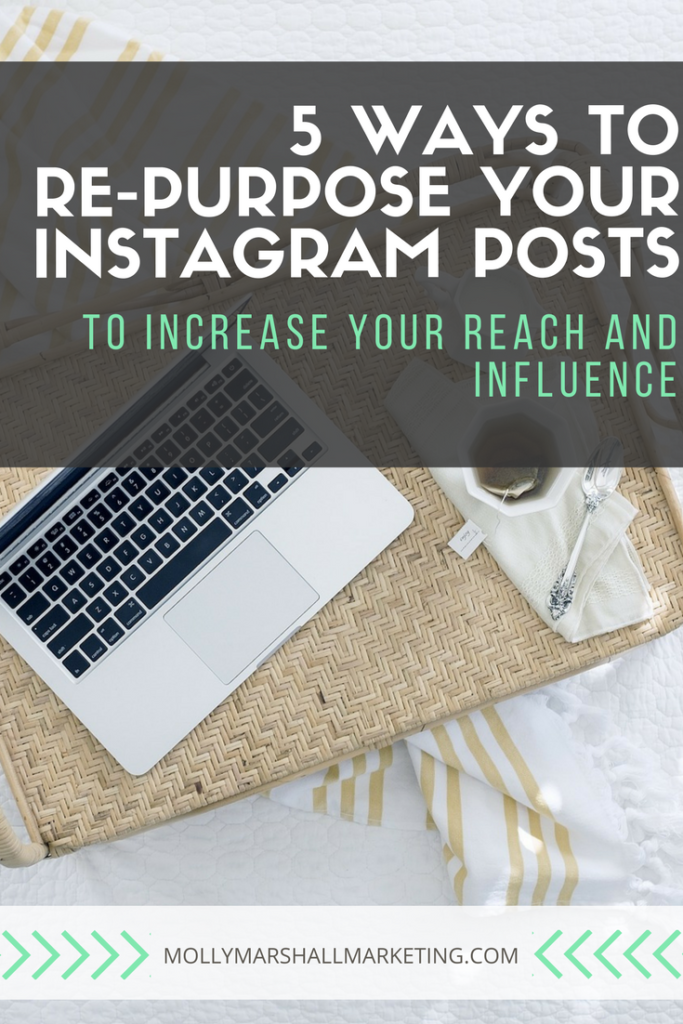 Reach more people by repurposing your Instagram content.