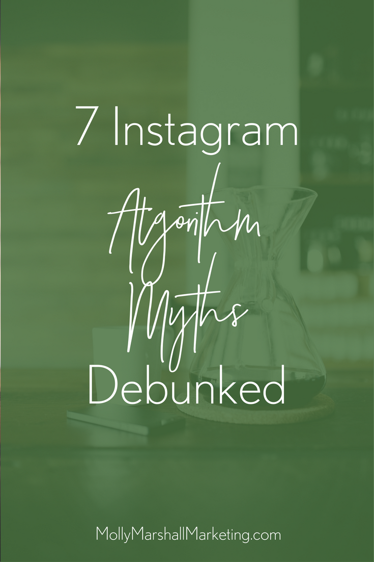 Instagram algorithm myths that just aren't true