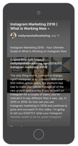 How to write IGTV titles and descriptions