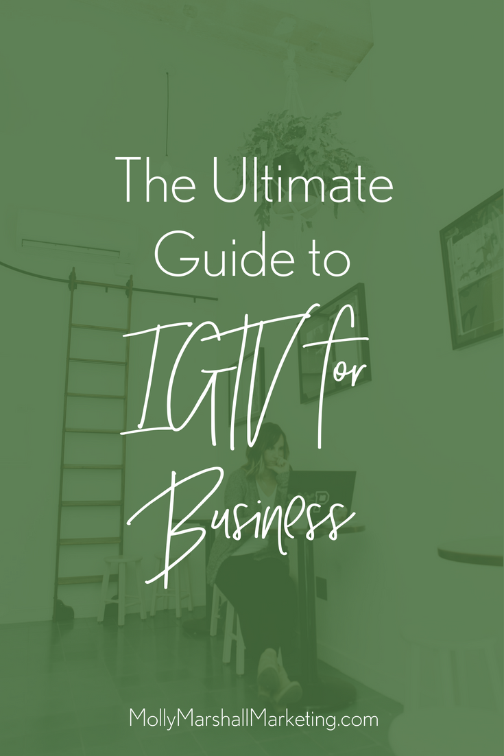 IGTV for Business is here!