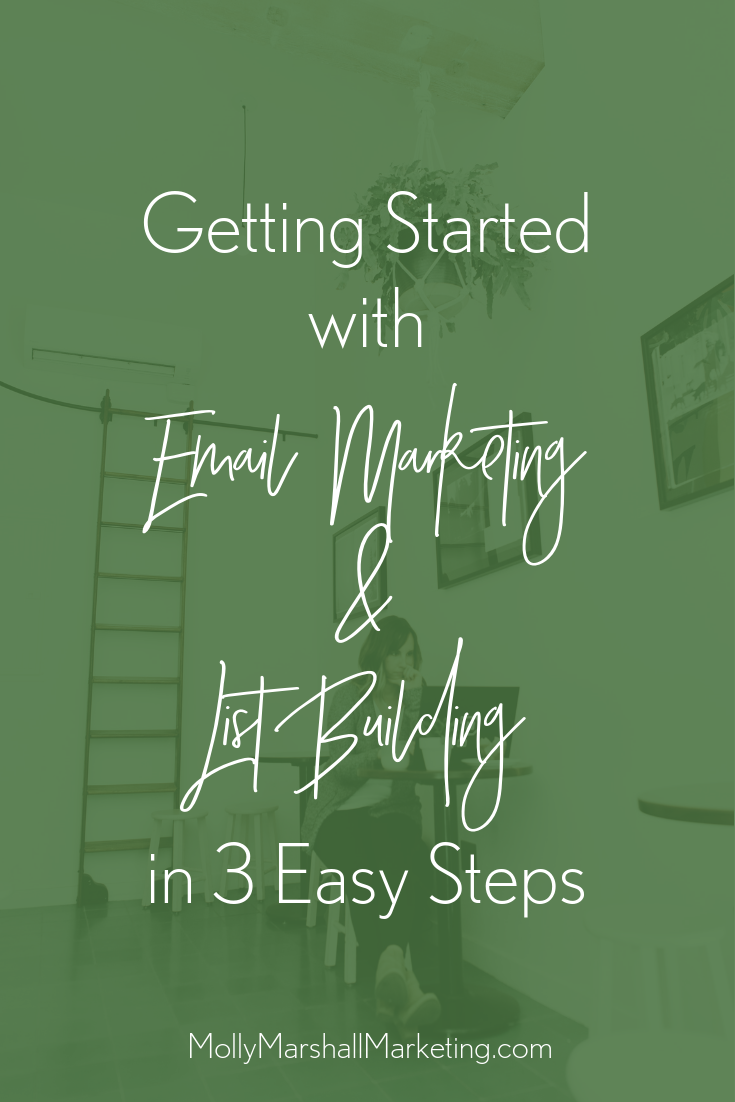 3 Easy Steps to Getting Started with Email Marketing