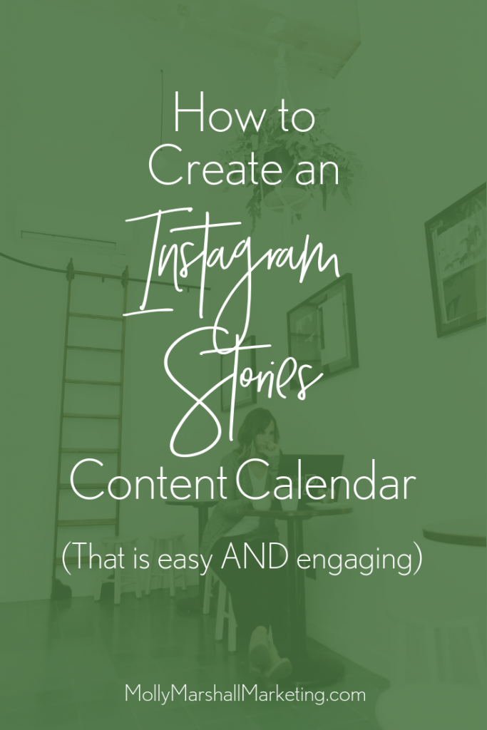 How to create an Instagram Stories content calendar that is easy to implement and genuinely engaging for your customer!