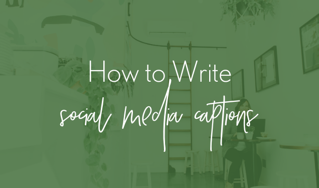 How to Write Creative Social Media Captions
