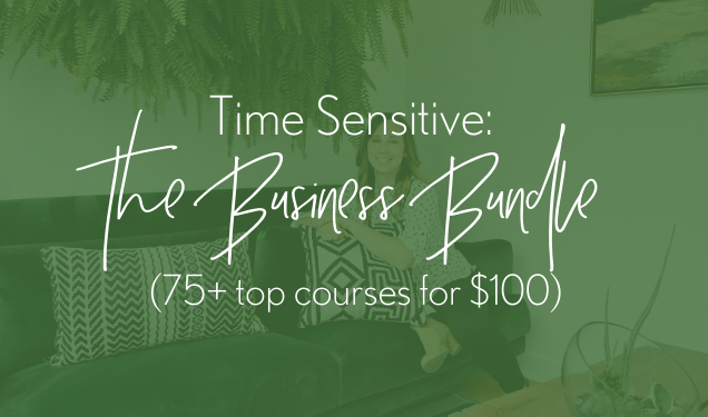 The Business Bundle (75+ courses for $100) and an Important Statement