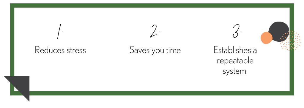 3 reasons for content calendar